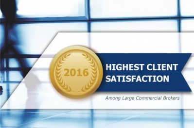 Lockton ranked first in client satisfaction survey