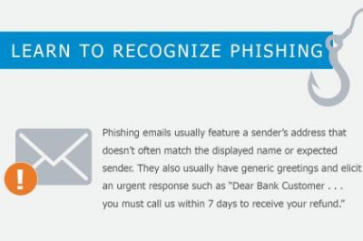 Learn to recognise Phishing